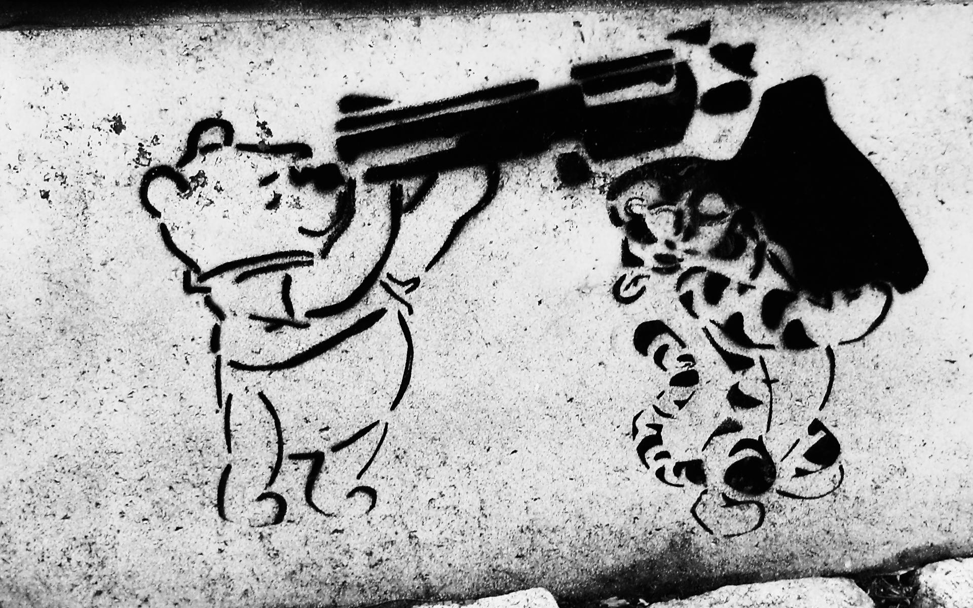 Streetart: Winnie Pooh
